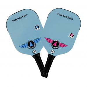 Prokennex Pro Flight Paddles Pink and Blue