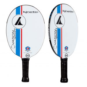 Prokennex Ovation Speed 2 Paddle White and Blue