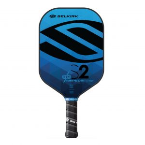 Selkirk Amped S2 Midweight Pickleball Paddle Sapphire Blue